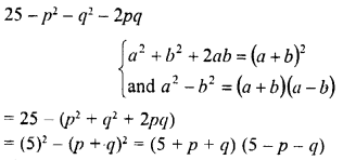 RD Sharma Class 8 Solutions Chapter 7 Factorizations Ex 7.6 5