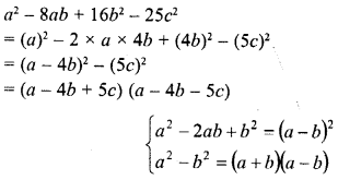 RD Sharma Class 8 Solutions Chapter 7 Factorizations Ex 7.6 8