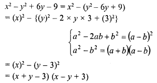 RD Sharma Class 8 Solutions Chapter 7 Factorizations Ex 7.6 9