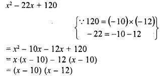 RD Sharma Class 8 Solutions Chapter 7 Factorizations Ex 7.7 7
