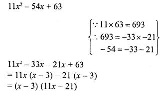 RD Sharma Class 8 Solutions Chapter 7 Factorizations Ex 7.8 10