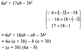 RD Sharma Class 8 Solutions Chapter 7 Factorizations Ex 7.8 19