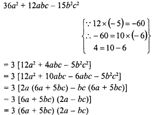 RD Sharma Class 8 Solutions Chapter 7 Factorizations Ex 7.8 20