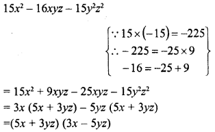 RD Sharma Class 8 Solutions Chapter 7 Factorizations Ex 7.8 21