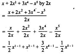 RD Sharma Class 8 Solutions Chapter 8 Division of Algebraic ExpressionsEx 8.3 1