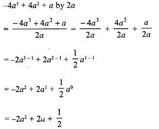 RD Sharma Class 8 Solutions Chapter 8 Division of Algebraic ExpressionsEx 8.3 4