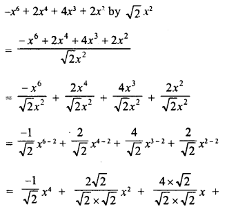 RD Sharma Class 8 Solutions Chapter 8 Division of Algebraic ExpressionsEx 8.3 5