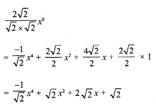 RD Sharma Class 8 Solutions Chapter 8 Division of Algebraic ExpressionsEx 8.3 6