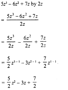 RD Sharma Class 8 Solutions Chapter 8 Division of Algebraic ExpressionsEx 8.3 7