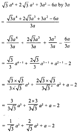 RD Sharma Class 8 Solutions Chapter 8 Division of Algebraic ExpressionsEx 8.3 8