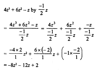 RD Sharma Class 8 Solutions Chapter 8 Division of Algebraic ExpressionsEx 8.4 2