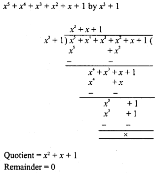RD Sharma Class 8 Solutions Chapter 8 Division of Algebraic ExpressionsEx 8.4 20