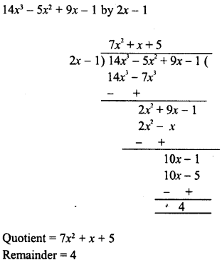 RD Sharma Class 8 Solutions Chapter 8 Division of Algebraic ExpressionsEx 8.4 21