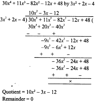RD Sharma Class 8 Solutions Chapter 8 Division of Algebraic ExpressionsEx 8.4 25