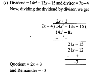 RD Sharma Class 8 Solutions Chapter 8 Division of Algebraic ExpressionsEx 8.4 28