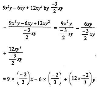 RD Sharma Class 8 Solutions Chapter 8 Division of Algebraic ExpressionsEx 8.4 3
