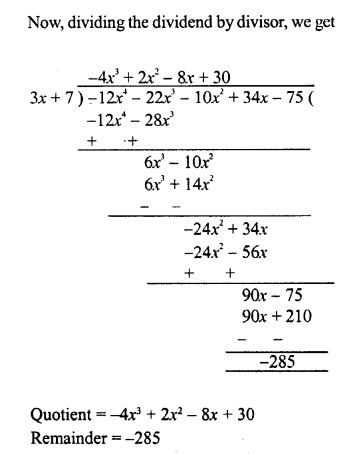 RD Sharma Class 8 Solutions Chapter 8 Division of Algebraic ExpressionsEx 8.4 31