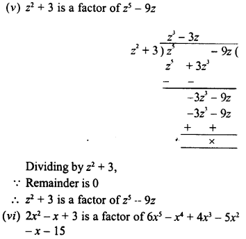 RD Sharma Class 8 Solutions Chapter 8 Division of Algebraic ExpressionsEx 8.4 40