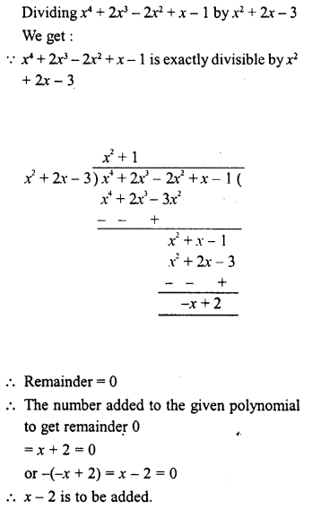 RD Sharma Class 8 Solutions Chapter 8 Division of Algebraic ExpressionsEx 8.4 44