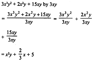 RD Sharma Class 8 Solutions Chapter 8 Division of Algebraic ExpressionsEx 8.4 5