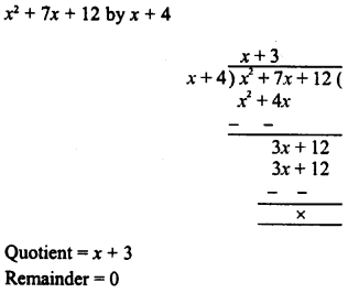 RD Sharma Class 8 Solutions Chapter 8 Division of Algebraic ExpressionsEx 8.4 6