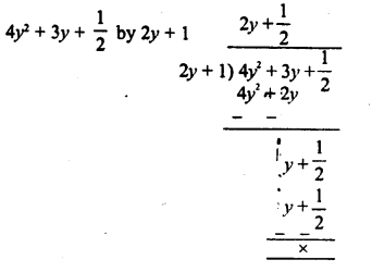 RD Sharma Class 8 Solutions Chapter 8 Division of Algebraic ExpressionsEx 8.4 7