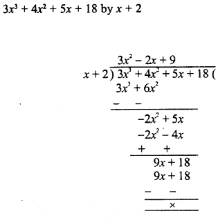 RD Sharma Class 8 Solutions Chapter 8 Division of Algebraic ExpressionsEx 8.4 9