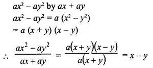 RD Sharma Class 8 Solutions Chapter 8 Division of Algebraic ExpressionsEx 8.6 2