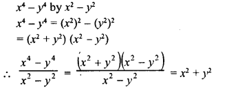 RD Sharma Class 8 Solutions Chapter 8 Division of Algebraic ExpressionsEx 8.6 3
