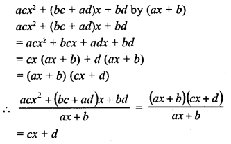 RD Sharma Class 8 Solutions Chapter 8 Division of Algebraic ExpressionsEx 8.6 4