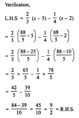 RD Sharma Class 8 Solutions Chapter 9 Linear Equations in One VariableEx 9.1 18
