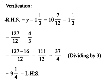 RD Sharma Class 8 Solutions Chapter 9 Linear Equations in One VariableEx 9.1 3