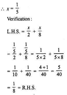 RD Sharma Class 8 Solutions Chapter 9 Linear Equations in One VariableEx 9.1 7