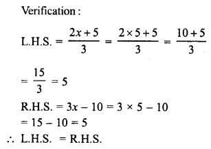 RD Sharma Class 8 Solutions Chapter 9 Linear Equations in One VariableEx 9.2 1