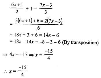 RD Sharma Class 8 Solutions Chapter 9 Linear Equations in One VariableEx 9.2 11