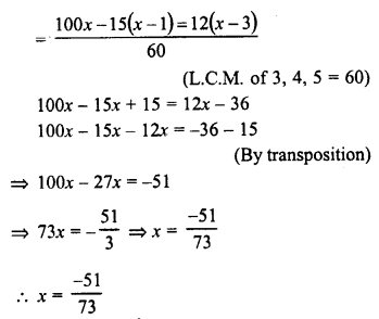 RD Sharma Class 8 Solutions Chapter 9 Linear Equations in One VariableEx 9.2 18