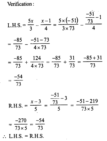 RD Sharma Class 8 Solutions Chapter 9 Linear Equations in One VariableEx 9.2 19