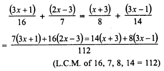 RD Sharma Class 8 Solutions Chapter 9 Linear Equations in One VariableEx 9.2 21