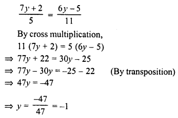 RD Sharma Class 8 Solutions Chapter 9 Linear Equations in One VariableEx 9.2 3
