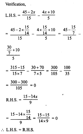 RD Sharma Class 8 Solutions Chapter 9 Linear Equations in One VariableEx 9.2 38