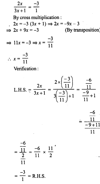 RD Sharma Class 8 Solutions Chapter 9 Linear Equations in One VariableEx 9.3 19