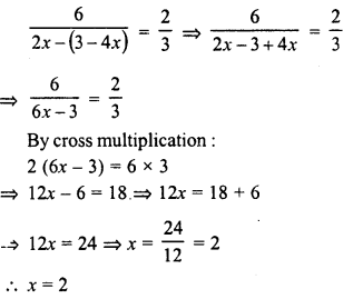 RD Sharma Class 8 Solutions Chapter 9 Linear Equations in One VariableEx 9.3 24
