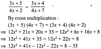 RD Sharma Class 8 Solutions Chapter 9 Linear Equations in One VariableEx 9.3 29