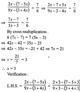 RD Sharma Class 8 Solutions Chapter 9 Linear Equations in One VariableEx 9.3 49
