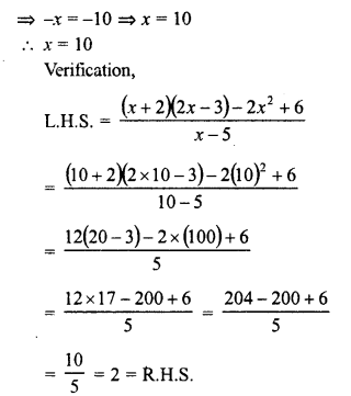 RD Sharma Class 8 Solutions Chapter 9 Linear Equations in One VariableEx 9.3 59