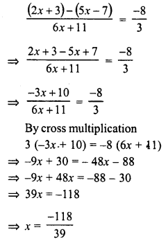 RD Sharma Class 8 Solutions Chapter 9 Linear Equations in One VariableEx 9.3 64