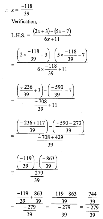 RD Sharma Class 8 Solutions Chapter 9 Linear Equations in One VariableEx 9.3 65