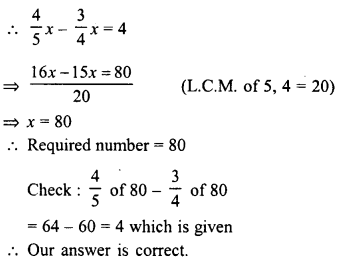 RD Sharma Class 8 Solutions Chapter 9 Linear Equations in One VariableEx 9.4 1