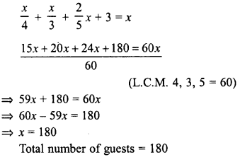 RD Sharma Class 8 Solutions Chapter 9 Linear Equations in One VariableEx 9.4 13
