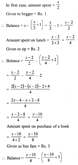 RD Sharma Class 8 Solutions Chapter 9 Linear Equations in One VariableEx 9.4 23